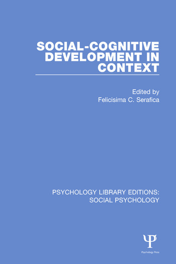 Social-Cognitive Development in Context book cover