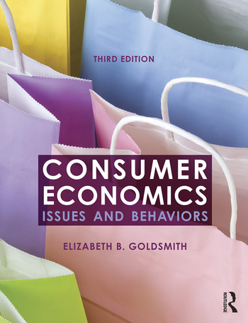 Consumer Economics Issues and Behaviors book cover