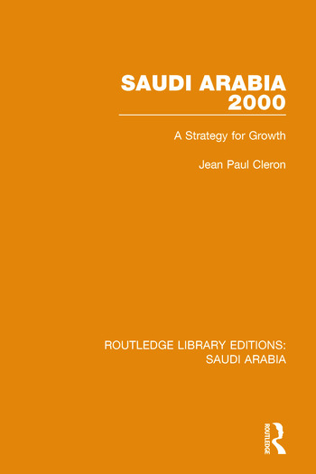 Saudi Arabia 2000 Pbdirect A Strategy for Growth book cover