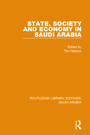 State, Society and Economy in Saudi Arabia Pbdirect book cover