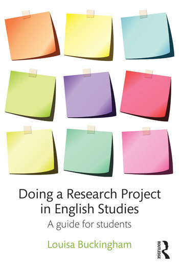 Doing a Research Project in English Studies A guide for students book cover