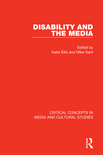 Disability and the Media book cover