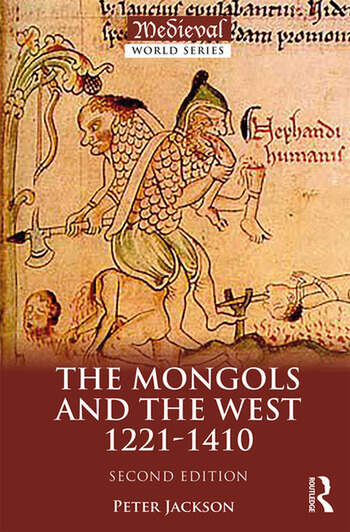 The Mongols and the West 1221-1410 book cover