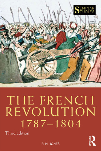 The French Revolution 1787-1804 book cover