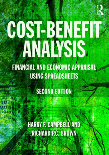 Cost-Benefit Analysis Financial And Economic Appraisal Using Spreadsheets book cover