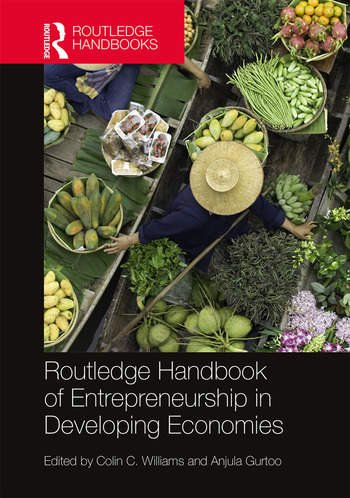 Routledge Handbook of Entrepreneurship in Developing Economies book cover