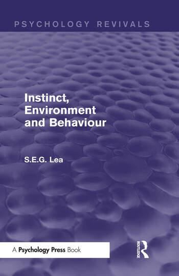 Instinct, Environment and Behaviour book cover