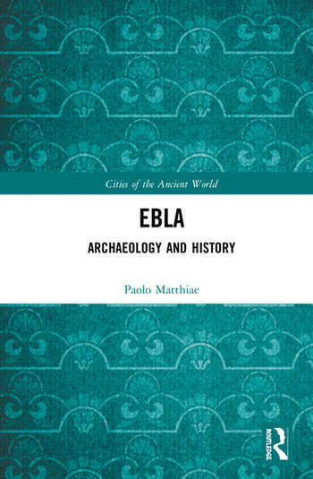 Ebla Archaeology and History book cover