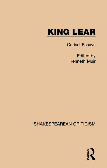 King Lear Critical Essays book cover