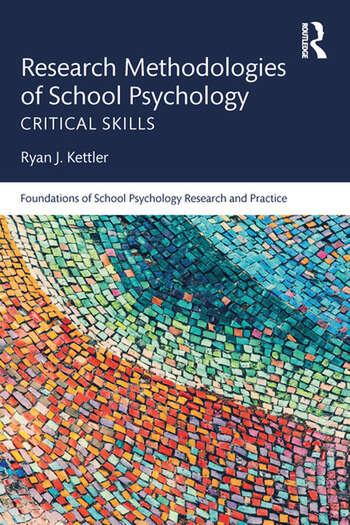 Research Methodologies of School Psychology Critical Skills book cover