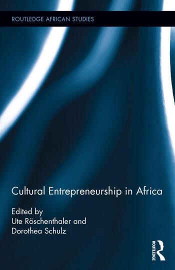 Cultural Entrepreneurship in Africa book cover