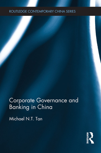 Corporate Governance and Banking in China book cover