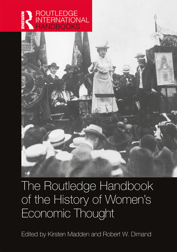 Routledge Handbook of the History of Women's Economic Thought book cover