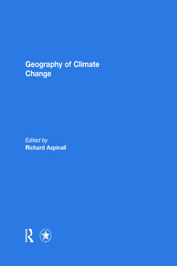 Geography of Climate Change book cover