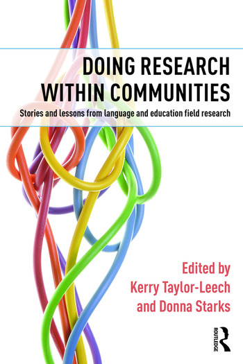 Doing Research within Communities Stories and lessons from language and education field research book cover