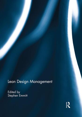 Lean Design Management book cover