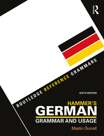 Hammer's German Grammar and Usage book cover