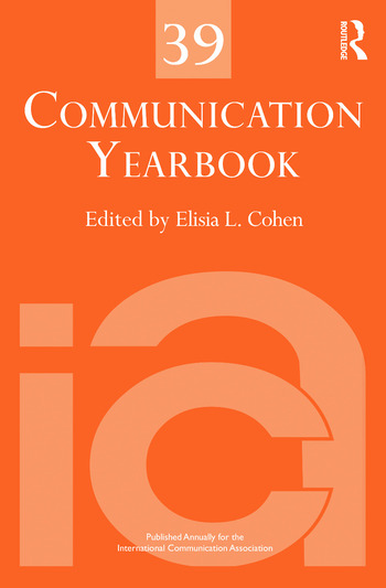 Communication Yearbook 39 book cover