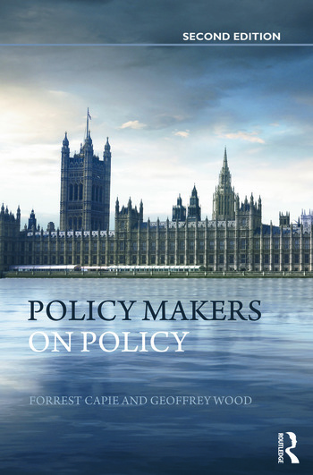 Policy Makers on Policy The Mais Lectures book cover