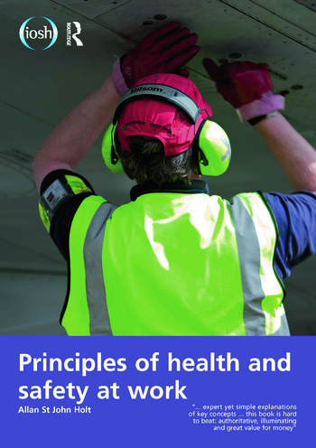 Principles of Health and Safety at Work book cover