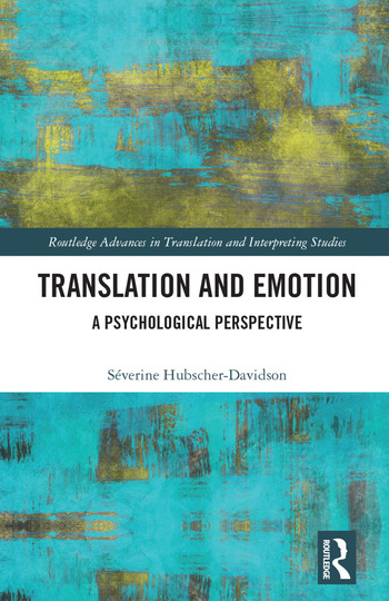 Translation and Emotion A Psychological Perspective book cover