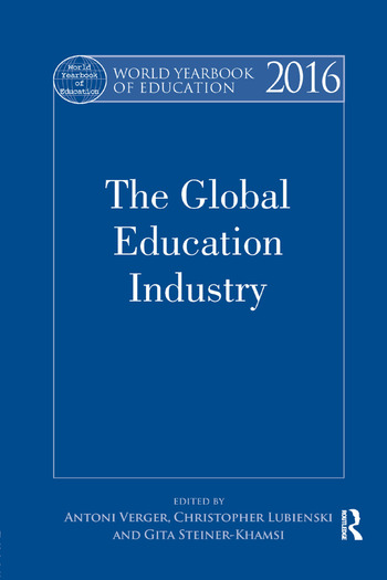 World Yearbook of Education 2016 The Global Education Industry book cover