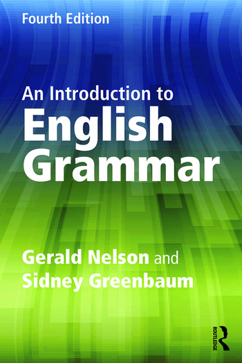 An Introduction to English Grammar book cover