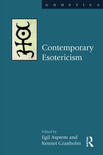 Contemporary Esotericism book cover