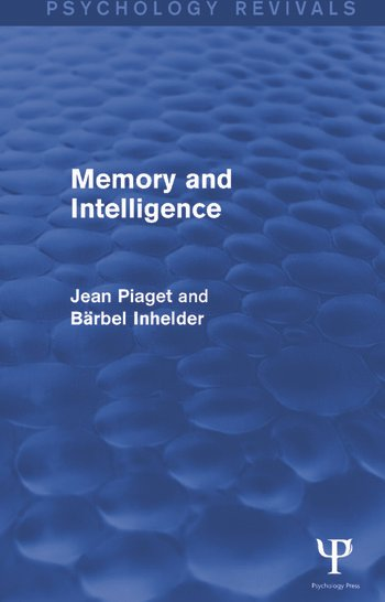 Memory and Intelligence book cover