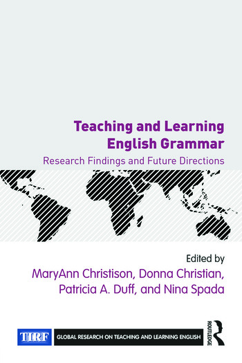 Teaching and Learning English Grammar Research Findings and Future Directions book cover