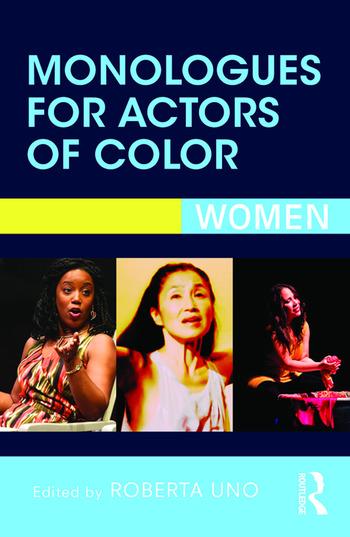 Monologues for Actors of Color Women book cover