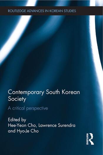 Contemporary South Korean Society A Critical Perspective book cover