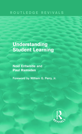 Understanding Student Learning (Routledge Revivals) book cover