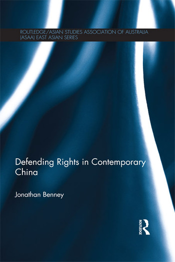 Defending Rights in Contemporary China book cover