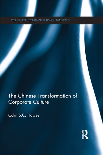 The Chinese Transformation of Corporate Culture book cover