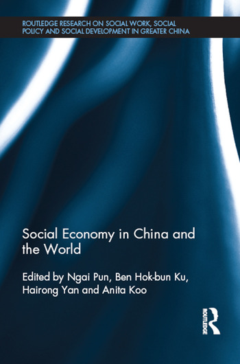 Social Economy in China and the World book cover