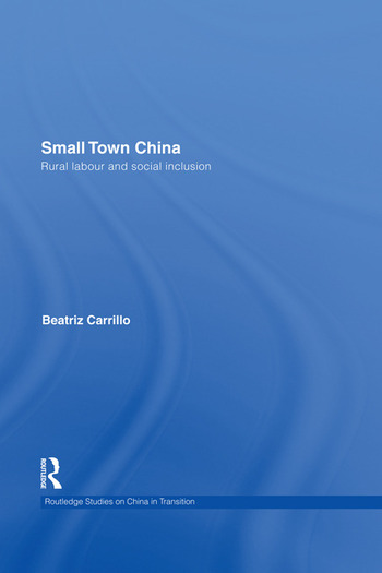 Small Town China Rural Labour and Social Inclusion book cover