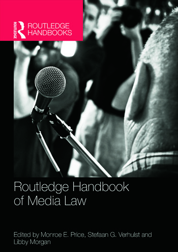 Routledge Handbook of Media Law book cover