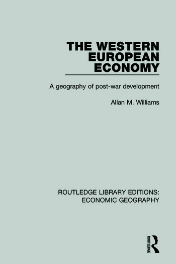 Western European Economy book cover
