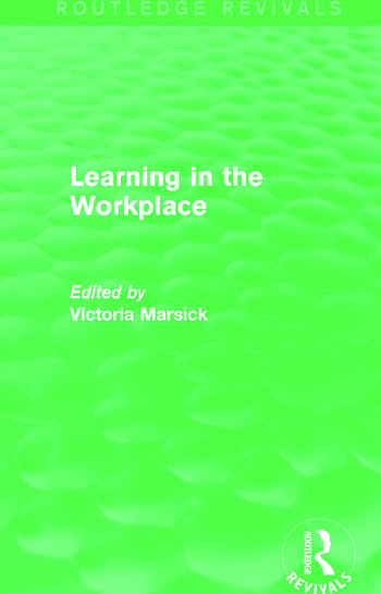 Learning in the Workplace (Routledge Revivals) book cover