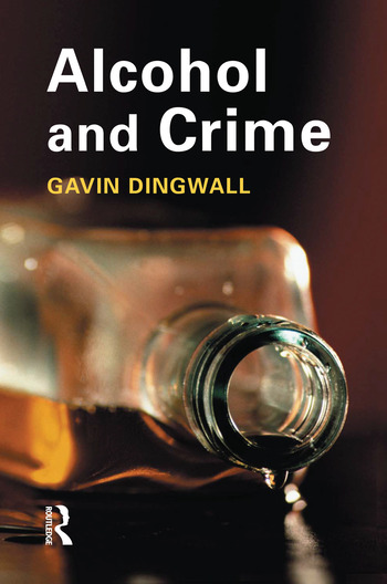 Alcohol and Crime book cover