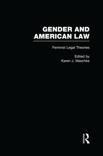 Feminist Legal Theories book cover