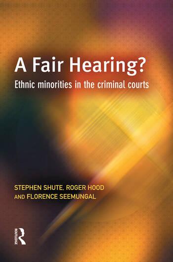 A Fair Hearing? book cover