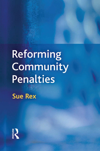 Reforming Community Penalties book cover