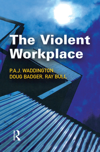 The Violent Workplace book cover