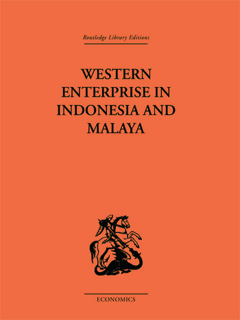 Western Enterprise in Indonesia and Malaysia book cover