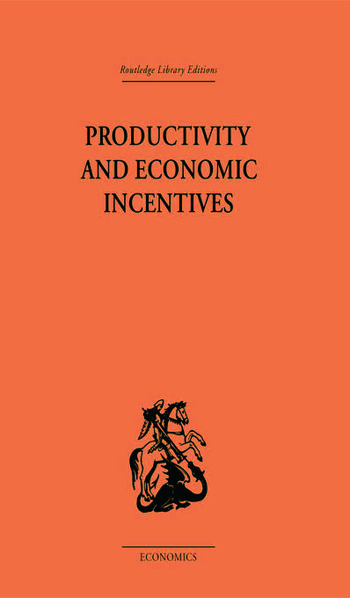 Productivity and Economic Incentives book cover
