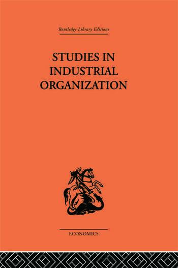 Studies in Industrial Organization book cover