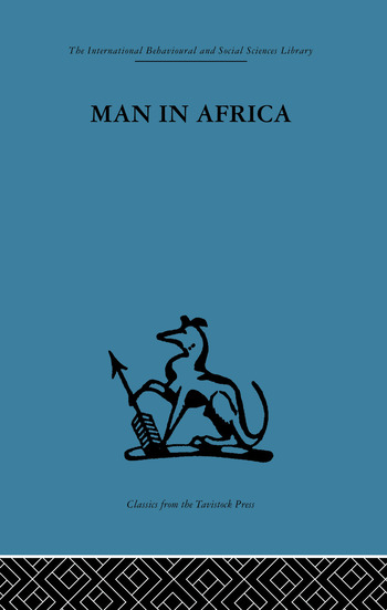 Man in Africa book cover