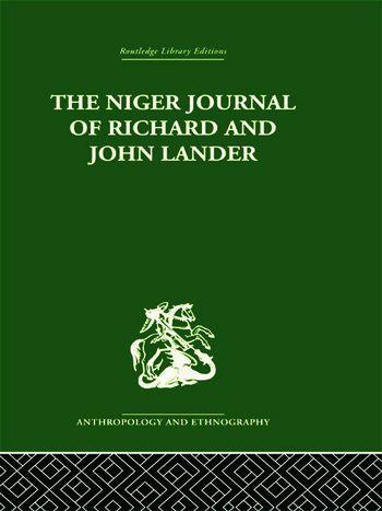 The Niger Journal of Richard and John Lander book cover